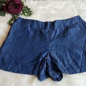 Kaari Blue Pull-on Shorts